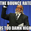 bounce rate funny