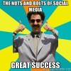 borat great success social media